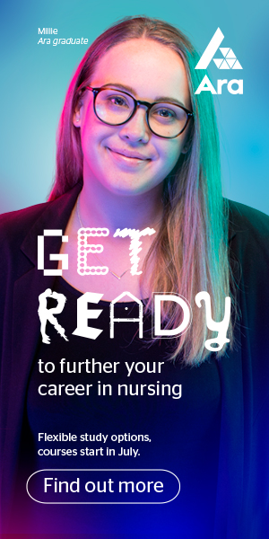 Ara. Get ready to further your career in nursing.