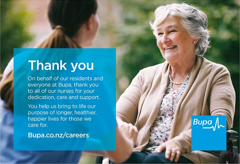 Bupa - thank you to all of our nurses for your dedication, care and support