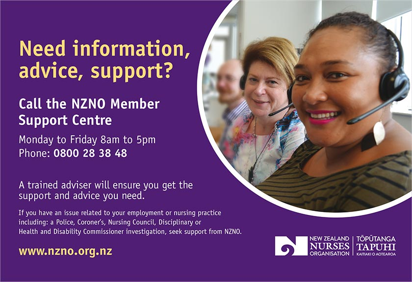 NZNO Member Support Centre