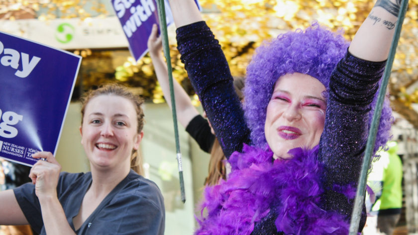 Day of action, solidarity, as DHB members hit the streets Thousands of nurses across Aotearoa march for better pay, conditions, and patient safety.