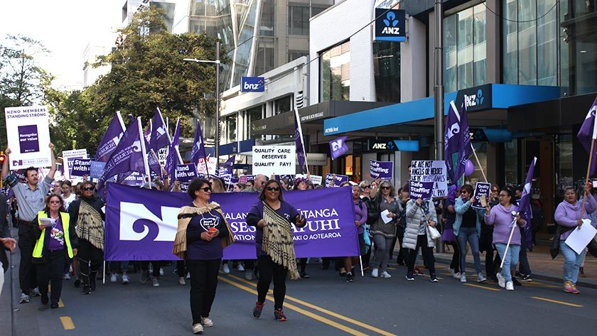 'Disturbing' Employment Court action by DHBs as members vote in droves to strike again The vote was in, and the DHBs' gloves came off.