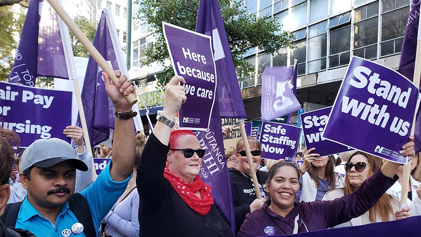 Too long taken for granted, nurses are waking up to political realities