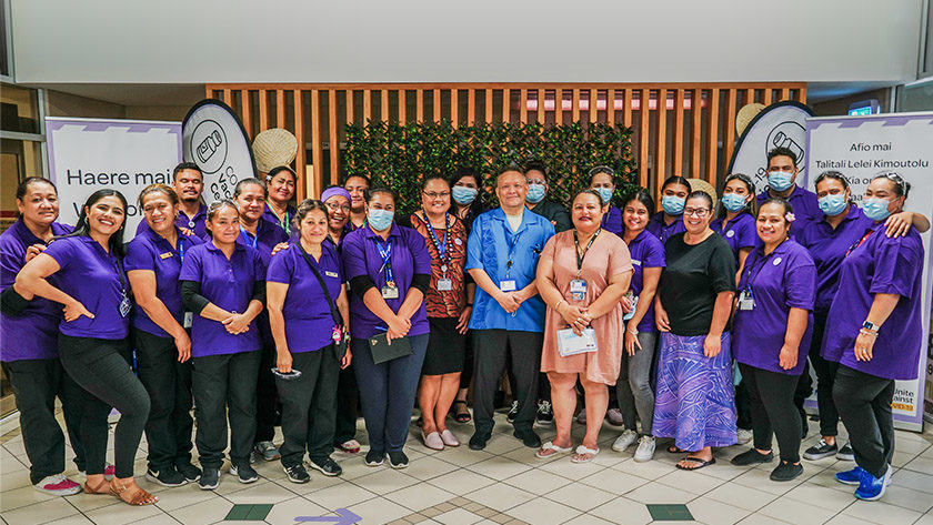'Sense of urgency' in Pacific community Frontline nurses vaccinating Pacific communities have seen thousands of people.
