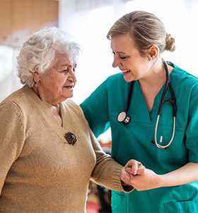 A registered nurse explains what an increase in staffing would mean for her.