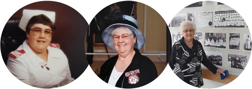 Alisa Stewart – matron, QSO recipient, and archivist for the Whanganui District Health Board.